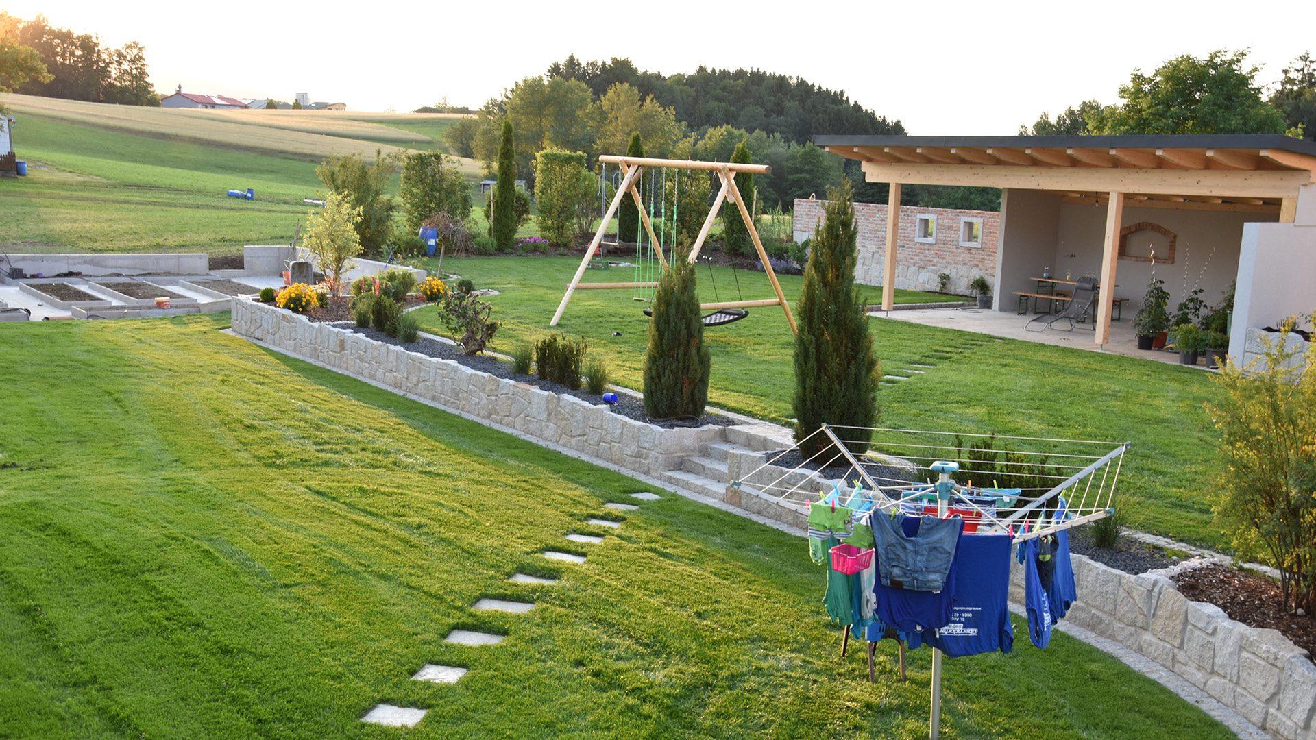 Familiengarten zum Entspannen - Maschinenring Blog ...