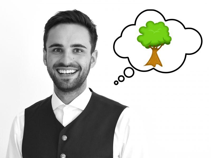 DI Philipp Engleder vom Baummanagement Maschinenring Oberösterreich