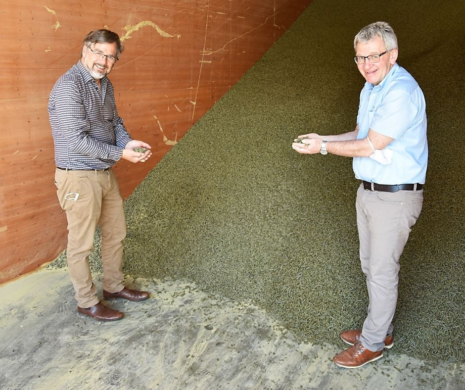 Klemens Rauch von VFI Oils for Life besucht die Maschinenring-Hausruckölmühle